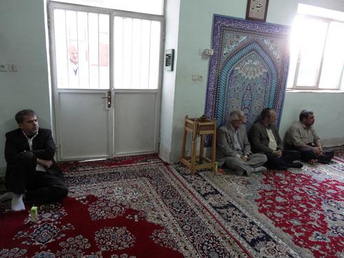 جلسه حلقه های صالحین با حضور استاد هژبری در بیمارستان گودرز یزد